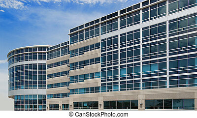 Office building - Large office complex in suburban...