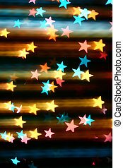 disco stars - abstract disco colored stars motion background...