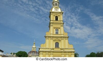 St.Peter and Paul Cathedral, area with people at cathedral....