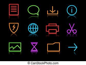 Conjunto, iconos