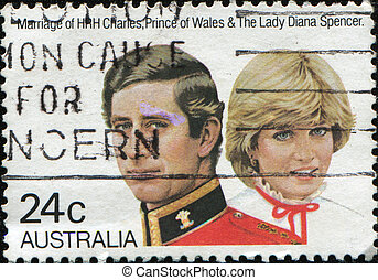 AUSTRALIA - CIRCA 1981: stamp printed by Australia, shows...