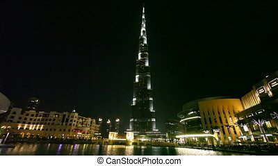 Burj Khalifa, tallest building in the world, and Burj Dubai...