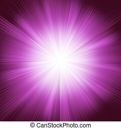 A violet color design with a burst. EPS 8 vector file...