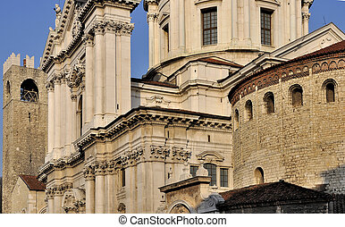 two cathedrals foresight, brescia - foresight of the two...