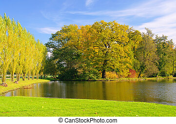 English Grounds of Woerlitz lake 02