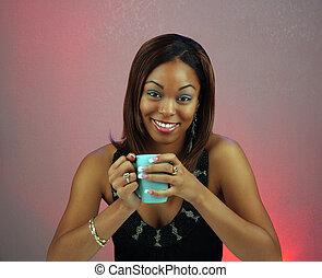 Beautiful Teen Girl with Coffee (2)