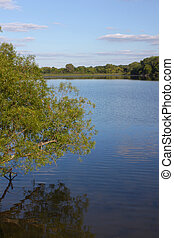 Rock Cut State Park - Illinois - View of Pierce Lake at Rock...