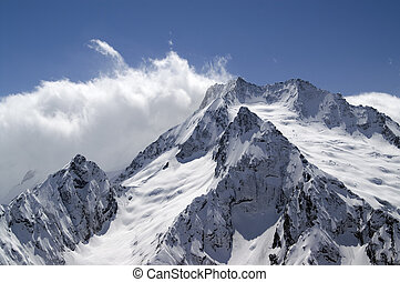 High mountains Caucasus, Dombay