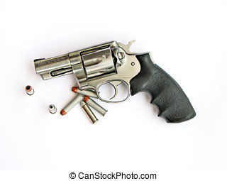 Firearm - magnum cal357 Revolver whit Bullets