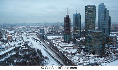Moscow International Business Center in Moscow, Russia -...