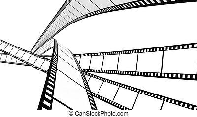 White film across the screen - White film cross screen on...
