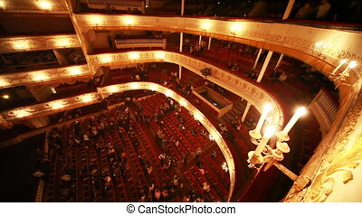Operetta Graph Monte Cristo at Moscow Operetta Theater in...