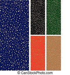 Seamless starry pattern