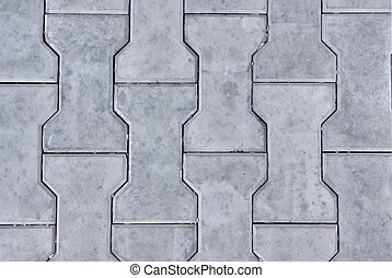 Stone blocks - Background of blue-grey stone concrete blocks...