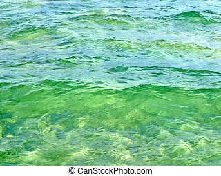 Emerald green water texture Can be used as a background...