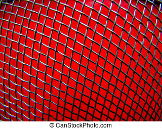 Red Background - welded Wire Mesh,Red Background