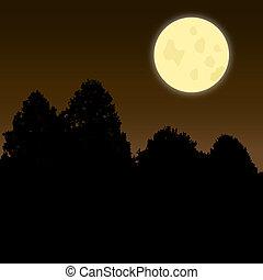 Twilight Moon Scene