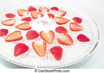Dehydrator - Fresh strawberry
