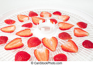 Dehydrator - Fresh strawberry