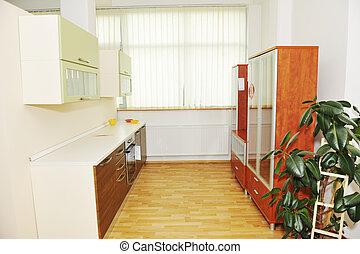 modern kitchen indoor