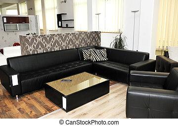 modern livingroom indoor