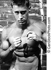 Tough boxer