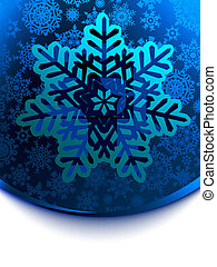 Snow Flake cars template EPS 8 vector file included