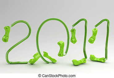The New Year 2011  in telco business
