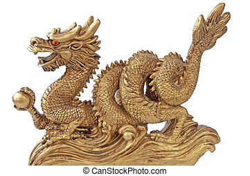 chinese dragon for happyness and luck