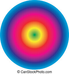 Spectral circle 2 - Spectral circle background