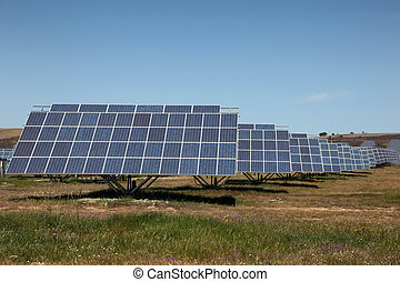 Large scale solar farm in Spain Solar energy is becoming an...
