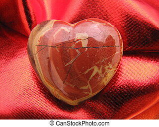 heart - A heart made of agate