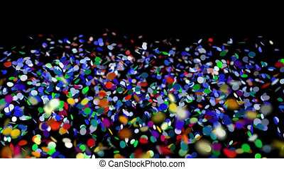 confetti with alpha channel