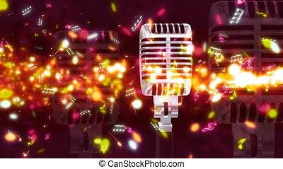 Music Streak and Micraphone Loop - Looping Music Streak and...