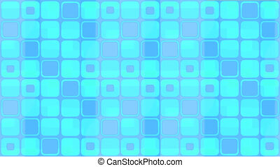 blue squares animated background, seamless loop, loopable