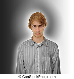Positive Negative - A young man caught in the gray area This...