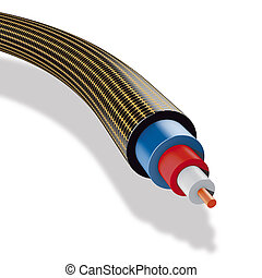 Electrical reticule cable