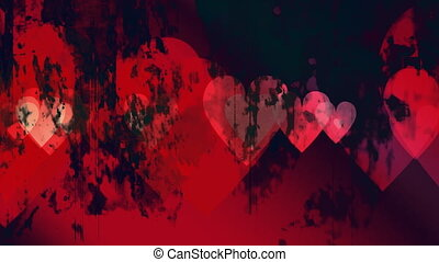 Anti Valentines Day Looping Animated Background