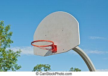 Outdoor Basketball Hoop with no Net