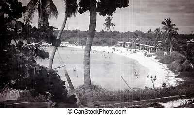 Old Footage Beach People