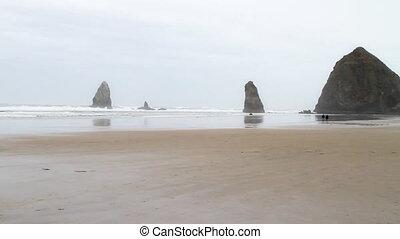 Haystack Rock Portland Oregon