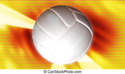 Volley Ball Abstract Loop - Looping Volley Ball Abstract...