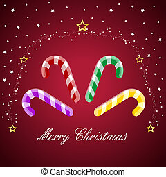 merry christmas, candy cane