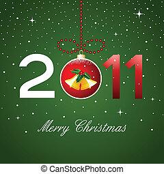 christmas card, 2011