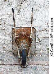 Barrow - Old rusty barrow