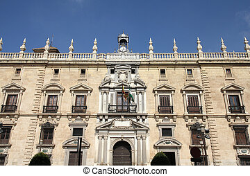 Granada in Andalusia region of Spain. Town hall.