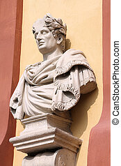 Tiberius - Emperor of Rome - Tiberius bust in Modena, Italy...
