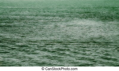 Color Enhanced Ocean in Green