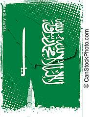 poster of saudi arabia