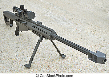 .50 Caliber Sniper Rifle - The USMC M107 .50 Caliber Sniper...